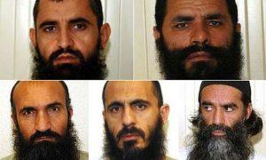 Taliban Five, a.k.a. Taliban Dream Team Abdul Haq Wasiq, Mohammad Fazl, Khalrullah Khalrkhwa, Mohammed Nabi