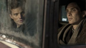 Jamie Dornan as Jan Kubis and Cillian Murphy as Jozef Gabcik
