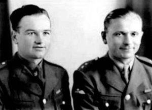 The real Jan Kubis and Jozef Gabcik Image by UK Govt., public domain