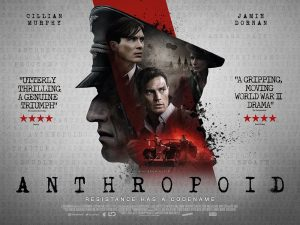 2016 Aug Anthropoid Movie Poster