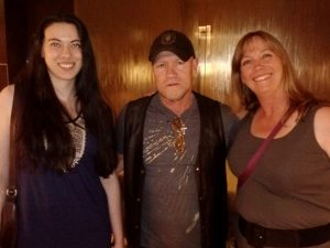 DD, Michael Rooker, and Piper Denver Comic Con June 2014