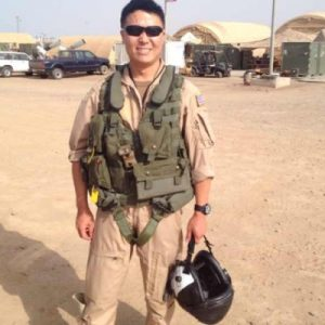 Lt. Cmdr. Edward Lin Image by US Naval Institute