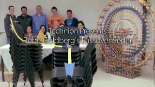 Video Wednesday — Passover Rube Goldberg Machine