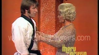 Video Wednesday — Chuck Norris and Eva Gabor 1971 Karate Demo