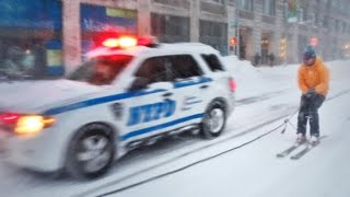 Video Wednesday — Skiing in New York City with the NYPD
