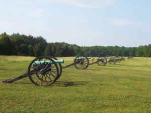 Manassas National Battlefield Park image by ARSNL, public domain