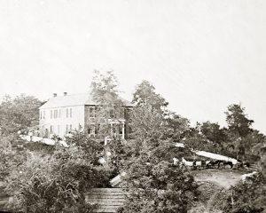Pry Farm at Antietam McClellan's Headquarters image by US Army, public domain