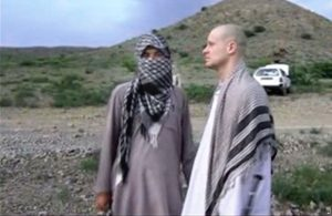 Sgt. Bowe Bergdahl with Taliban. image from Voice of Jihad Website