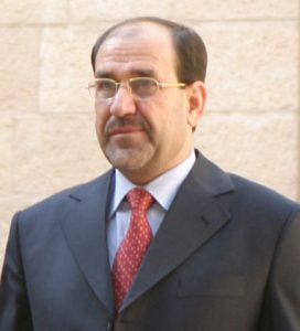 Former Iraqi Prime Minister Nouri Al-Maliki Image by US government, public domain.
