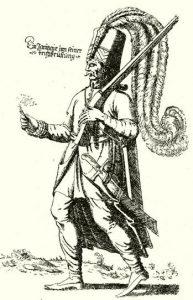 16th Century Jannisary public domain, wikimedia commons