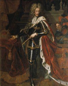 Portrait of Leopold I of Hapsburg Holy Roman Emperor Artist unknown, public domain