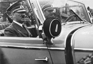 Hitler in Poland, 1939 Image by Josef Gierse, wikimedia commons.