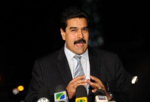 Venezuelan dictator Nicolas Maduro Image by Fabio Rodrigues Pozzebom/ABr and AgenciaBrasil.