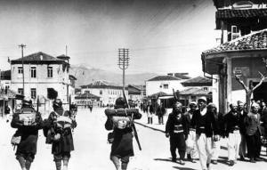 Italian Troops in Albania public domain