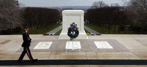 Tomb of the Unknowns, Arlington Nat'l Cemetery Image by PH2 Daniel J. McLain, US Navy