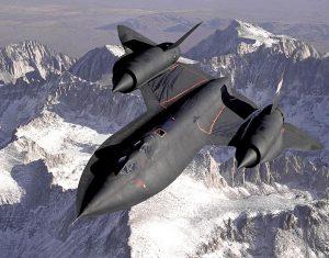 Lockheed SR-71 Blackbird Image by NASA, public domain.