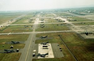 Clark Air Force Base in Philippines, 1989. Image by US Air Force, public domain.