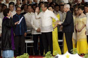 Inauguration of Benigno Aquino, III in June, 2010. Image by Govt. of Philippines, public domain.