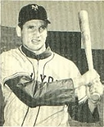 New York Giants Bobby Thomson Image by Bowman Gum, 1948