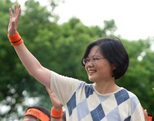 President-Elect Dr. Tsai Ing-Wen Image by MiNe(sfmine79), wikimedia commons.