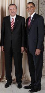 Recep Tayyip Erdogan & Barack Obama Image by State Dept., public domain.