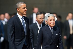 US Pres. Obama and Japanese Emperor Akihito Image by State Dept., public domain