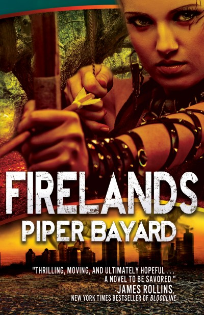 The Nine Year Baby — FIRELANDS Cover Reveal