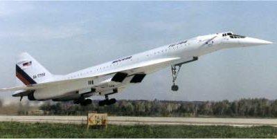 Flight of the Konkordski — Explosion of the TU-144