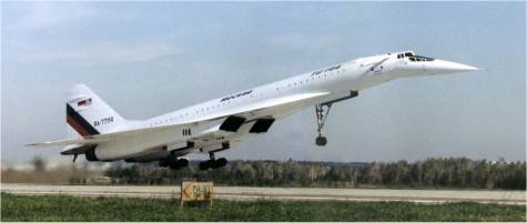 Flight of the Konkordski — Explosion of the TU-144